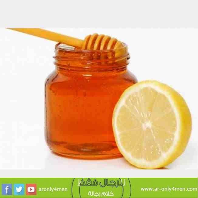 علاج التهاب الحلق بالعسل والليمون