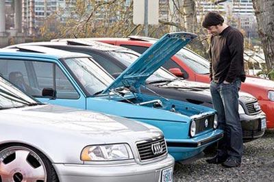 شراء سيارة مستعملة